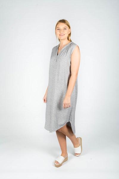 Scarlett Dress Paris Grey