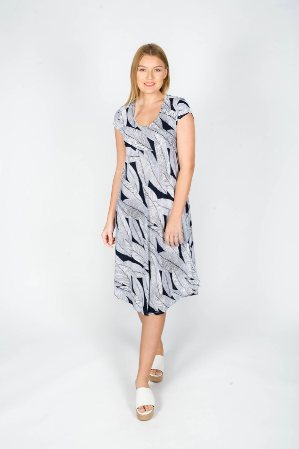 Florence Dress Cannes Navy