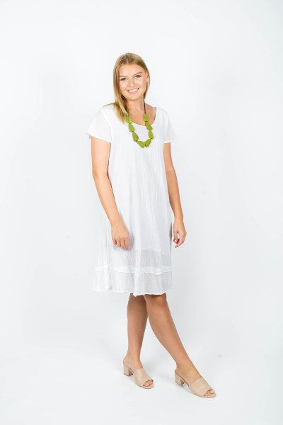 Ivy Dress White
