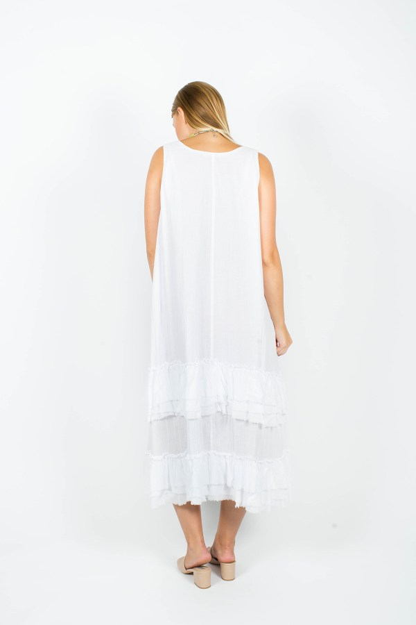 Willow Dress White
