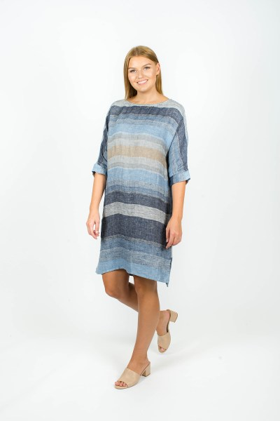Molly Dress Seattle Blue