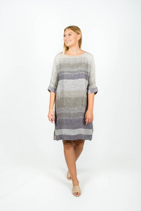 Molly Dress Seattle Grey
