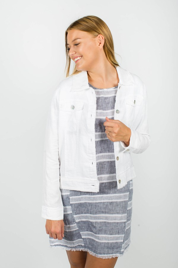 Lucy Jacket White