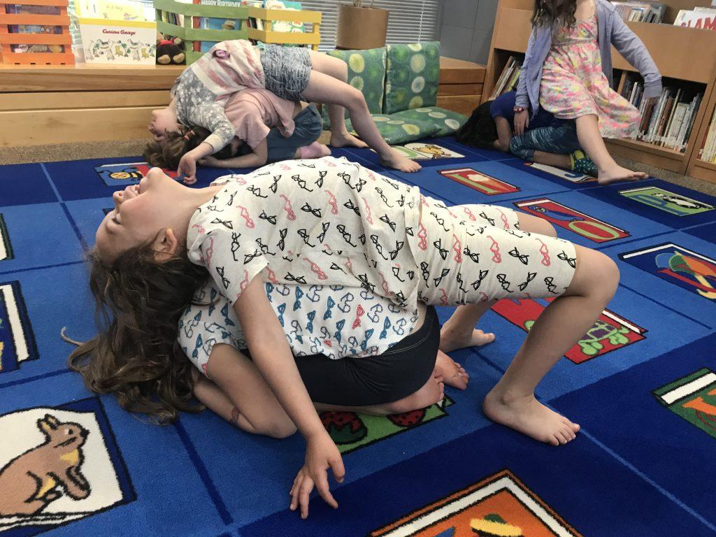 Animal Partner Yoga Poses For Kids