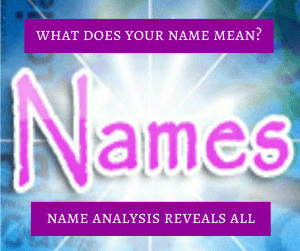 name analysis reveals your in depth name meanings