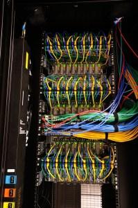 Back of Microcloud rack