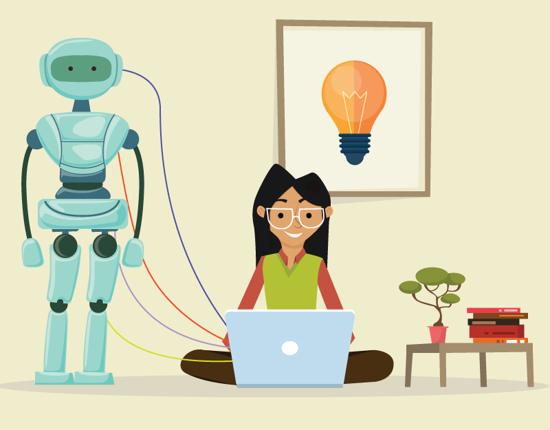 Hero image of How About a Robotic Assistant For Your Business?Instead of Resolutions, Why Not Create New Habits?