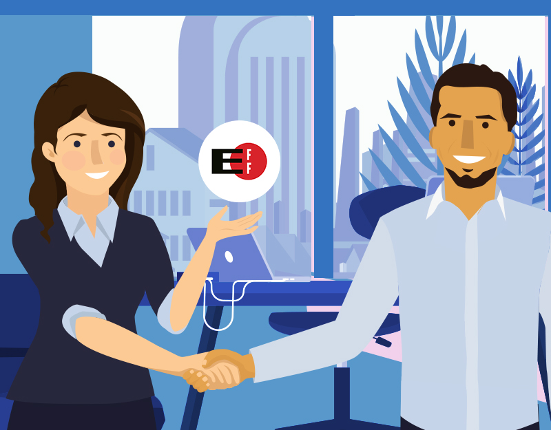 Hero image of Move Your Domain Day: A Chat with EFF & Namecheap