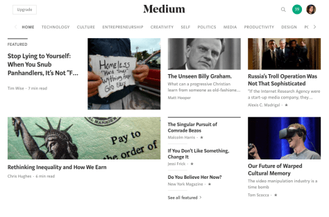 Medium.com screenshot