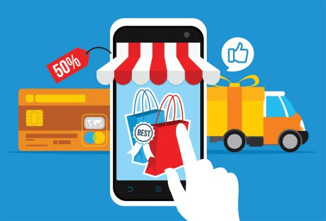 e-commerce illustration