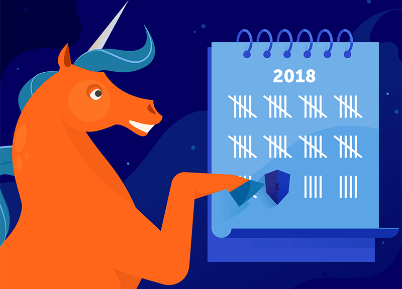 Unicorn counts down the days of cybersecurity awareness month