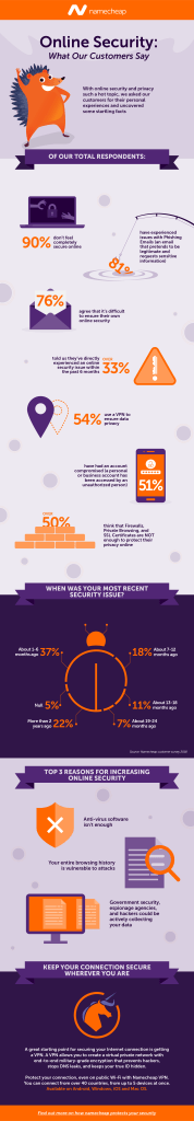customer security survey infographic