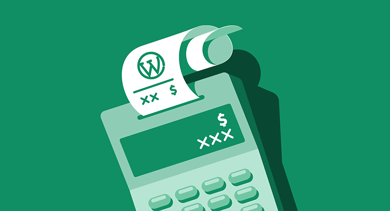 WordPress calculation on a calculator