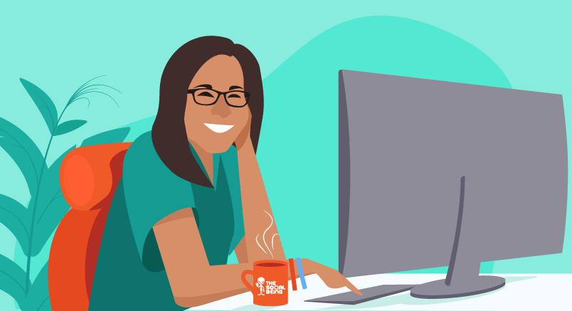 Hero image of The Social Being: A Woman-Run Digital Agency