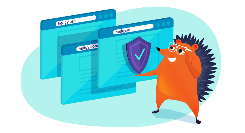 hedgehog buying alternate domains