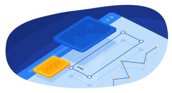 Blog layout graphic