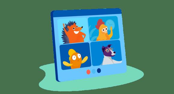 Namecheap characters on Zoom