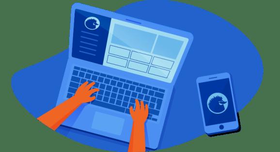 designing an e-commerce website