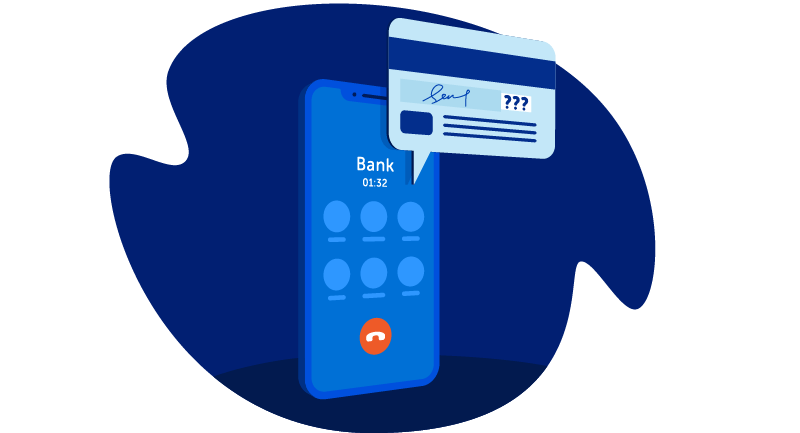 entering credit card data on mobile phone