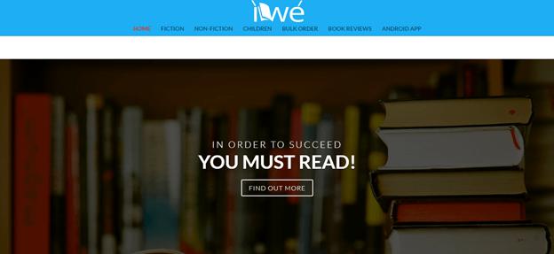 screenshot of iwe.store