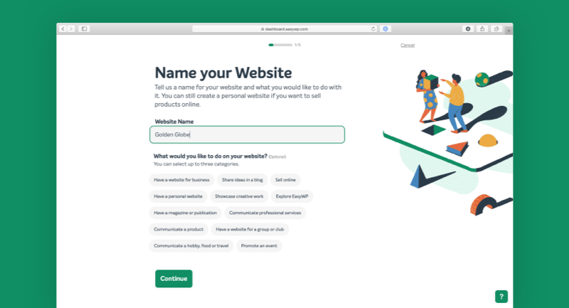 Introducing EasyWP's All-New Wizard