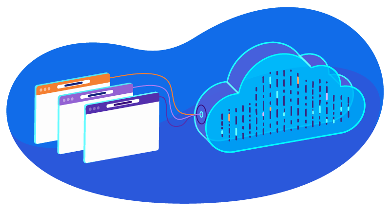 cloud hosting with multiple websites