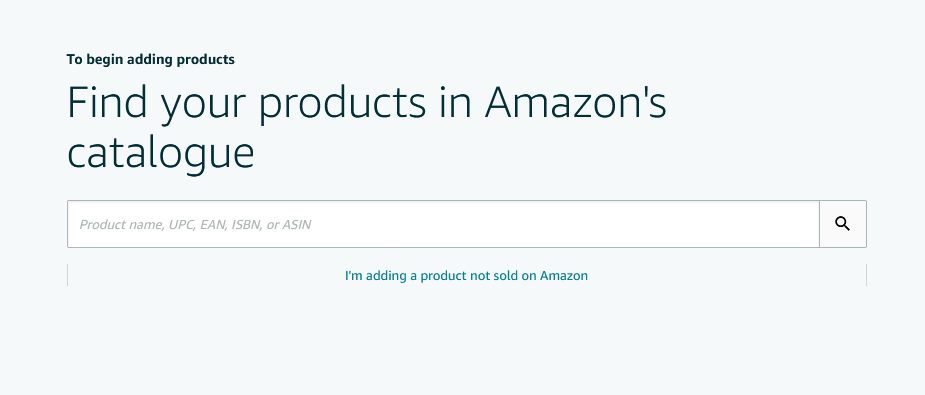 screenshot of product search on Amazon