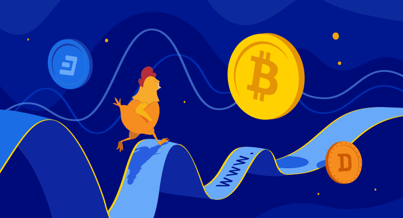 Hero article of How cryptocurrency prices impact domain names