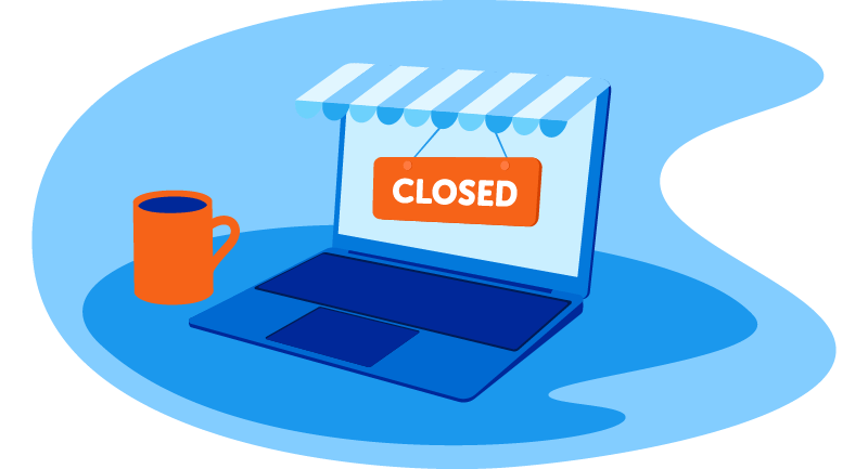 website is closed