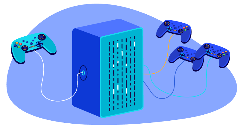Why are dedicated servers better for gaming?