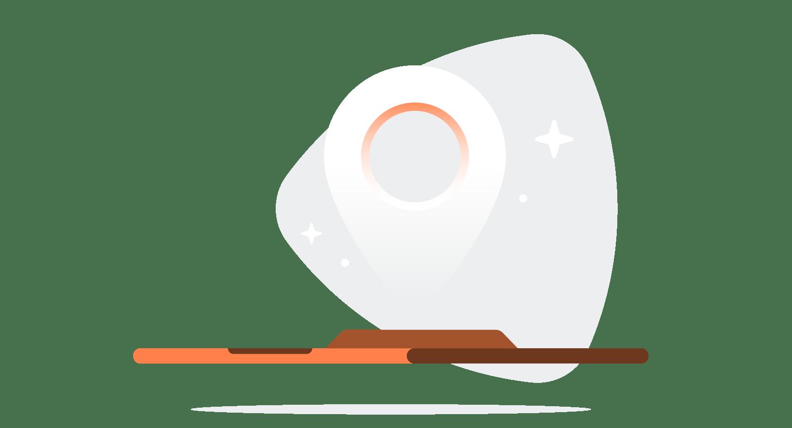 illustration for Google Maps on device