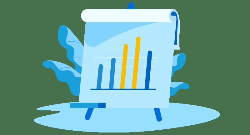 growth chart illustration