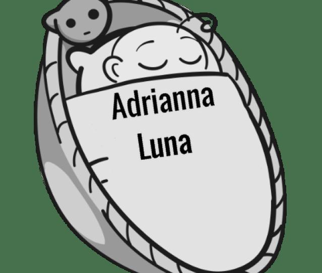 Adrianna Luna Sleeping Baby