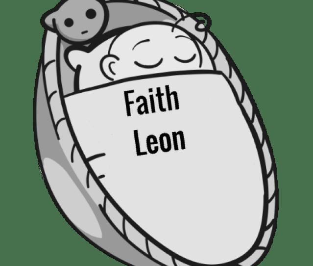 Faith Leon Sleeping Baby