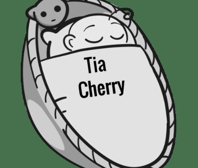 Tia Cherry Sleeping Baby