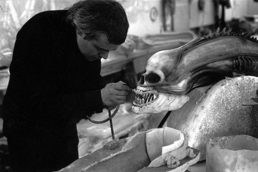 H.R. Giger's Original Design To-Do List For
