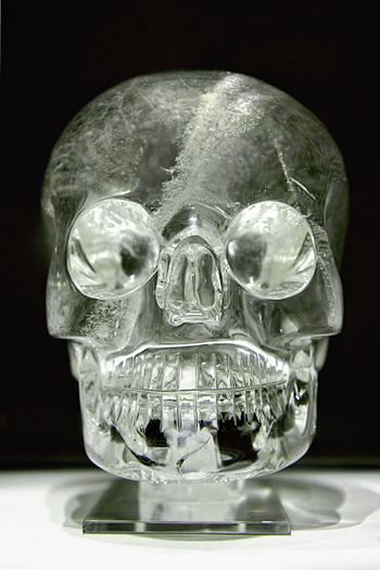The crystal skull. Collection of the British M...