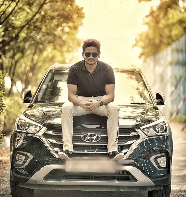 Shanmukh Jaswanth's Car