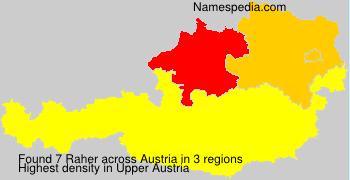 Raher - Names Encyclopedia