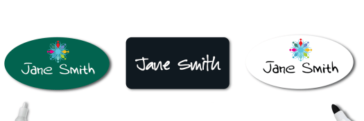 Reusable Name Tags