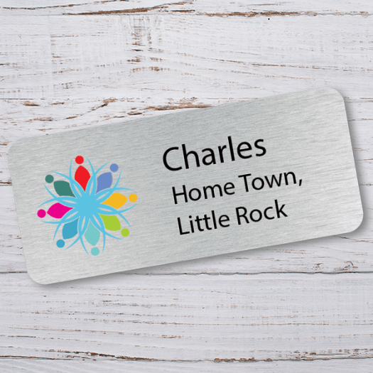 Home Town Name Tag