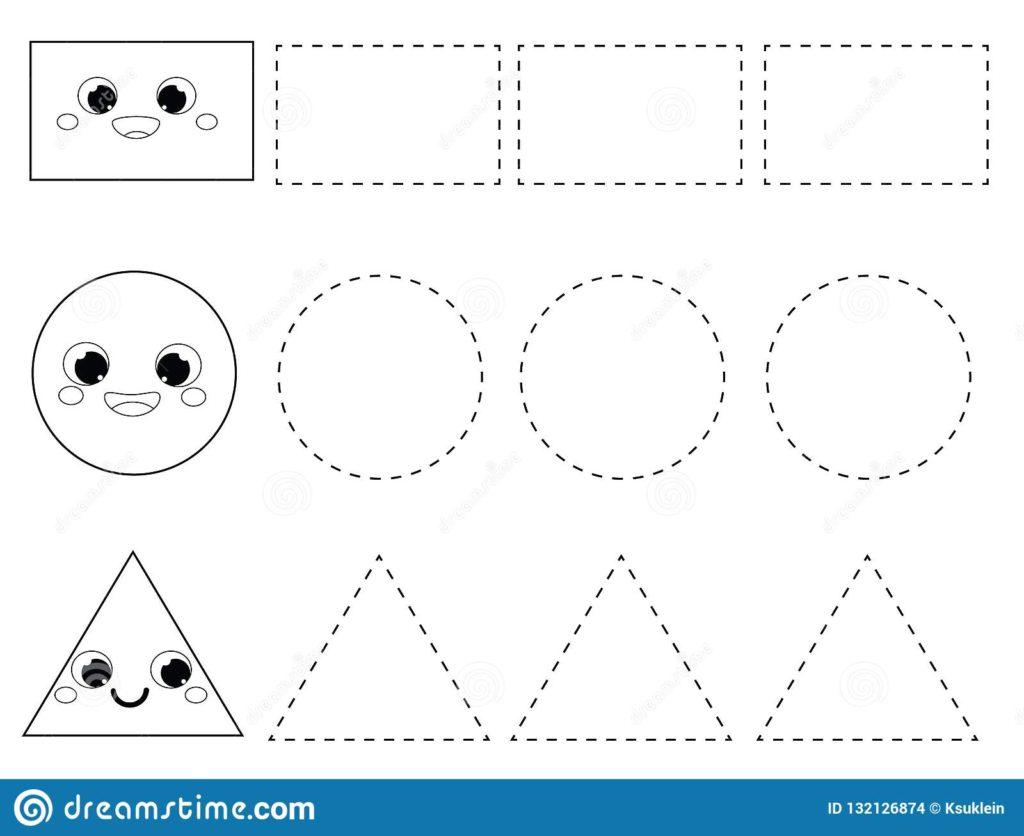 Preschool Tracing Worksheets In Spanish