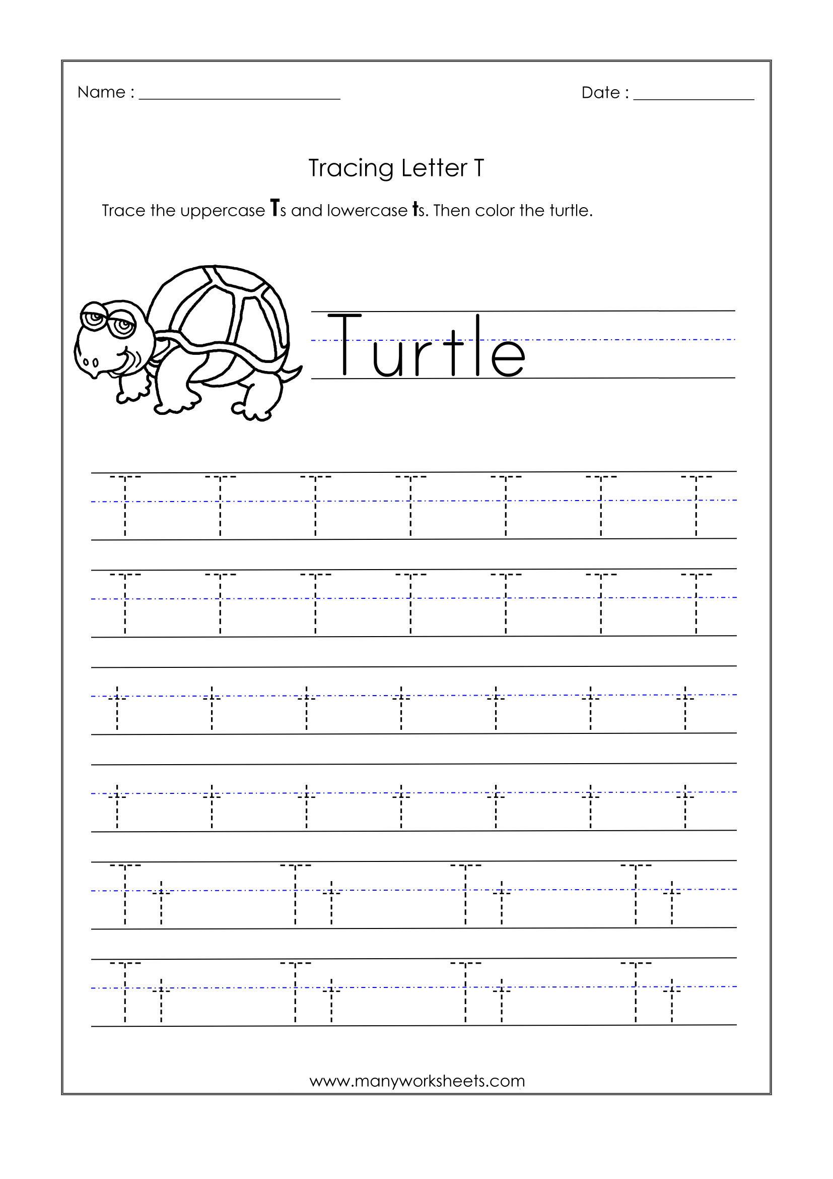Lowercase Q Tracing Worksheet