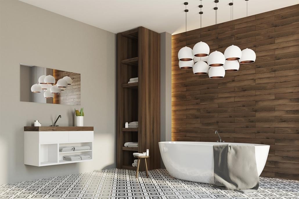 Devi ristrutturare il bagno e lo vorresti pratico, raffinato e dal mood moderno? Come Arredare Un Bagno Moderno Le Soluzioni E I Materiali Piu Innovativi