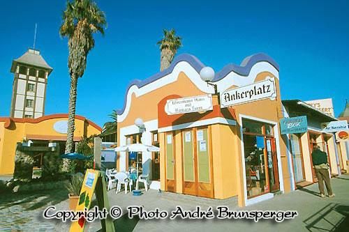 Swakopmund ville Namibie