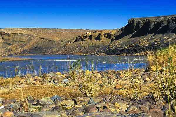 Fleuve Orange - Namibie safari voyage sur mesure et groupe Namibie Botswana Voyage Namibie carte et prix