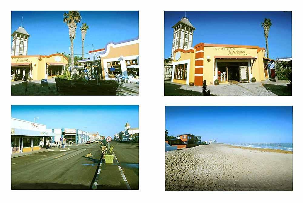 Swakopmund, station balnéaire sur la côte atlantique de la Namibie. width=