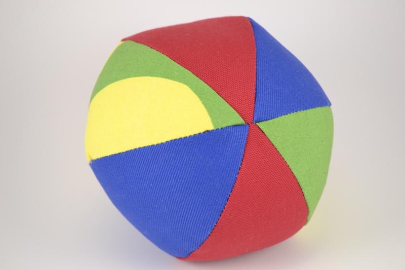 Spalvotas kamuoliukas Šoklius
