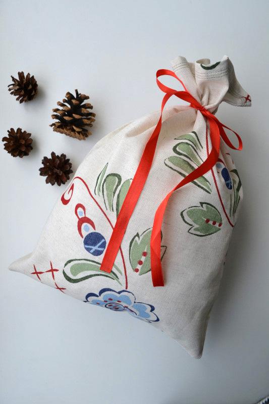 Maišelis dovanoms - ornamentai