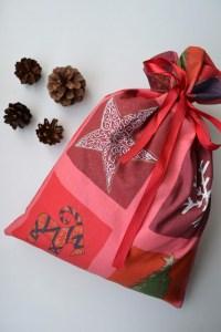 Medžiaginis dovanų maišelis - Kalėdos